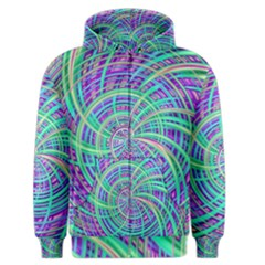 Happy Aqua Men s Zipper Hoodies