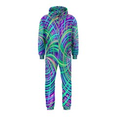Happy Aqua Hooded Jumpsuit (Kids)