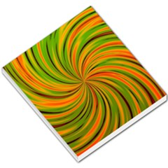 Happy Green Orange Small Memo Pads