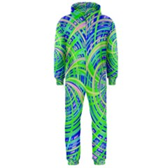 Happy Green Hooded Jumpsuit (Men)