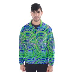 Happy Green Wind Breaker (Men)