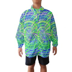 Happy Green Wind Breaker (Kids)