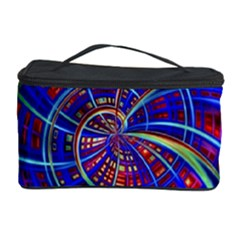 Happy Red Blue Cosmetic Storage Cases