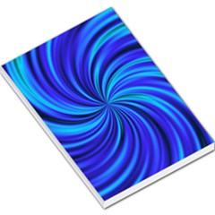 Happy, Blue Large Memo Pads