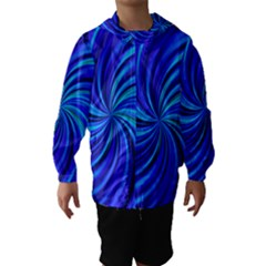 Happy, Blue Hooded Wind Breaker (Kids)