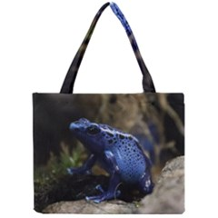Blue Poison Arrow Frog Tiny Tote Bags