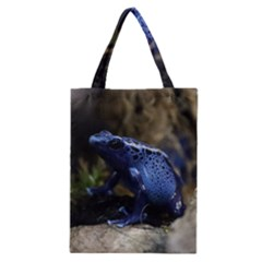 Blue Poison Arrow Frog Classic Tote Bags