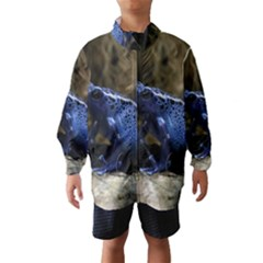 Blue Poison Arrow Frog Wind Breaker (Kids)