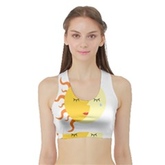 Women s Sports Bra With Border