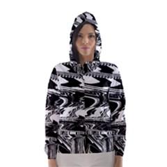 Bw Glitch 1 Hooded Wind Breaker (women)