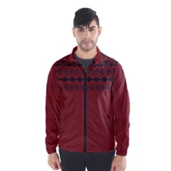 Aztec Red Wind Breaker (Men)