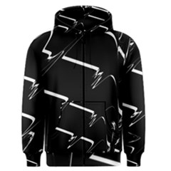 Bw Glitch 3 Men s Zipper Hoodies