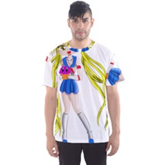 Sailor Moon Men s Sport Mesh Tees