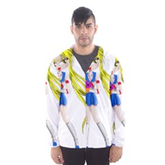 Sailor Moon Hooded Wind Breaker (Men)
