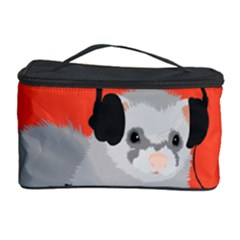 Funny Music Lover Ferret Cosmetic Storage Cases