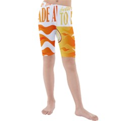 its better to burn out than to fade away Kid s swimwear