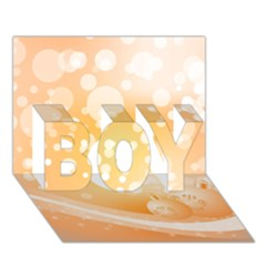 Wonderful Christmas Design With Sparkles And Christmas Balls Boy 3d Greeting Card (7x5)
