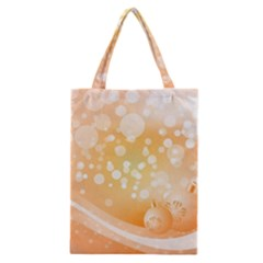 Wonderful Christmas Design With Sparkles And Christmas Balls Classic Tote Bags