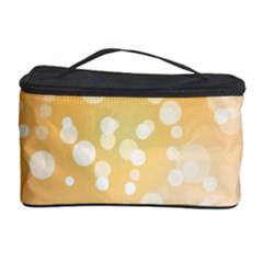 Wonderful Christmas Design With Sparkles And Christmas Balls Cosmetic Storage Cases