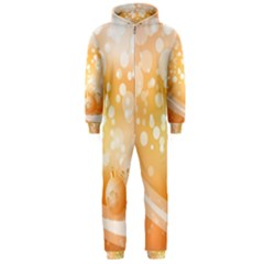 Wonderful Christmas Design With Sparkles And Christmas Balls Hooded Jumpsuit (Men)