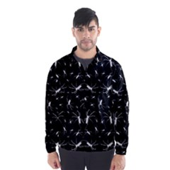 Spiders Pattern Print Wind Breaker (men)