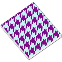 Houndstooth 2 Purple Small Memo Pads