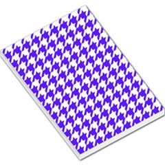 Houndstooth Blue Large Memo Pads
