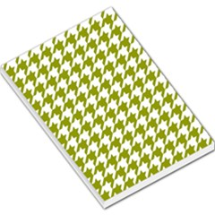 Houndstooth Green Large Memo Pads