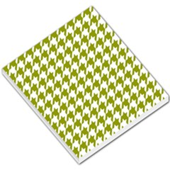 Houndstooth Green Small Memo Pads