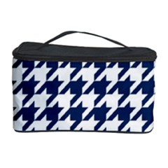 Houndstooth Midnight Cosmetic Storage Cases