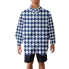 Houndstooth Midnight Wind Breaker (Kids)
