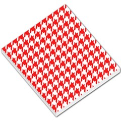 Houndstooth Red Small Memo Pads