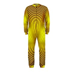 Swirling Dreams Yellow Onepiece Jumpsuit (kids)