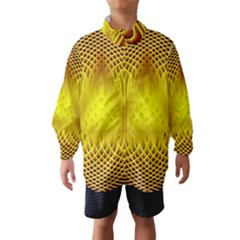 Swirling Dreams Yellow Wind Breaker (Kids)