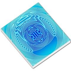 Swirling Dreams, Aqua Small Memo Pads