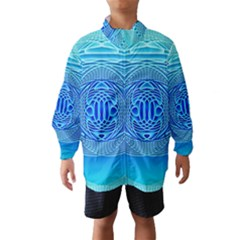 Swirling Dreams, Aqua Wind Breaker (Kids)