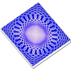 Swirling Dreams, Blue Small Memo Pads