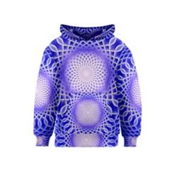 Swirling Dreams, Blue Kid s Pullover Hoodies