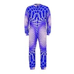Swirling Dreams, Blue OnePiece Jumpsuit (Kids)