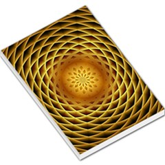 Swirling Dreams, Golden Large Memo Pads