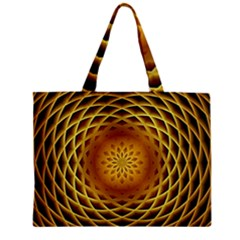 Swirling Dreams, Golden Zipper Tiny Tote Bags