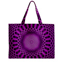 Swirling Dreams, Hot Pink Zipper Tiny Tote Bags
