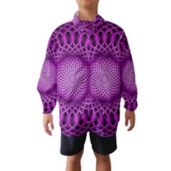 Swirling Dreams, Hot Pink Wind Breaker (Kids)