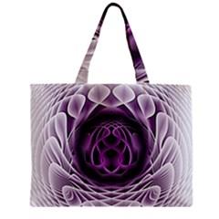 Swirling Dreams, Purple Zipper Tiny Tote Bags