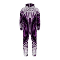 Swirling Dreams, Purple Hooded Jumpsuit (kids)