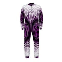 Swirling Dreams, Purple OnePiece Jumpsuit (Kids)