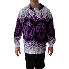 Swirling Dreams, Purple Hooded Wind Breaker (Kids)
