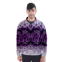Swirling Dreams, Purple Wind Breaker (Men)