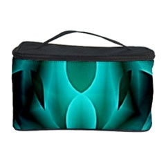 Swirling Dreams, Teal Cosmetic Storage Cases