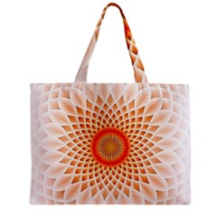 Swirling Dreams,peach Zipper Tiny Tote Bags